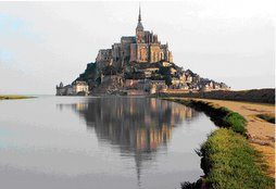 Mont- Saint- Michel (Francia)