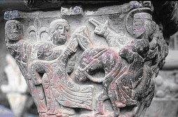 capitel de san juan de la peña