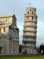 Conjunto de Pisa. Italia