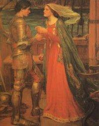 Cantares de gestas. (Tristán e Isolda de Waterhouse).
