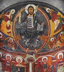 Cristo Pantocrátor de San Clemente de Taüil