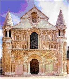 NOTRE DAME, La grande, Poitiers