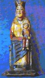Virgen Románica