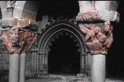 Capiteles del claustro de san juan de la peña