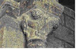 Capitel de la iglesia de Le Puy (Francia)