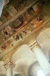 frescos de la iglesia de Saint Savin (francia)
