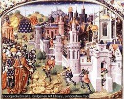 PRIMERA CRUZADA. Los cruzados toman Jerusalen