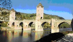 Puente fortificado de Valentre (Francia)