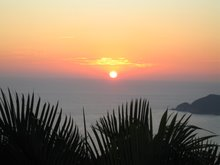 Sunset over Acapulco