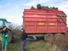 the first load leaves the heath