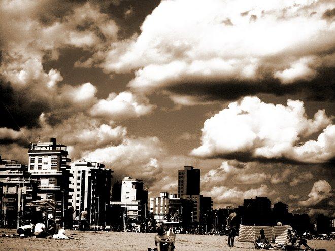 Playa de gandía.mayo 07