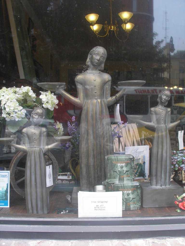 The firecloud report noon in the garden of good and evil for Garden of good and evil statue