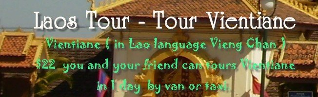 Laos Tour - Tour Vientiane