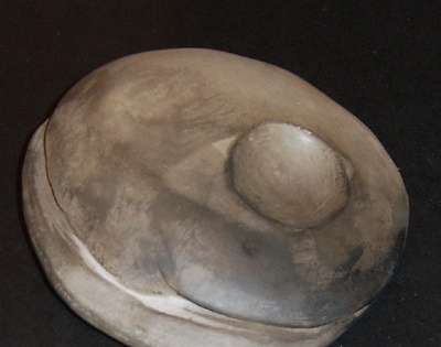 porcelaine polie enfumée