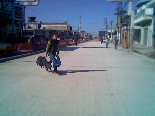 """CARLOS CASARES"" la construccion de la ruta provincial 17"