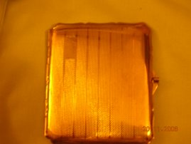 A Plain Stratton Cigarette Case For The Men