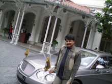 THATS ME AND MY BENTLEY