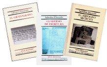 El grafógrafo; El hipogeo secreto; Cuaderno de escritura.