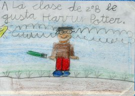 Harry Potter en clase de 2ºB