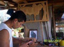 Taller de talla en Madera