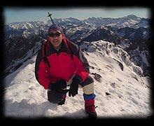 Anie-Auñamendi mendiaren gailurra 2.507 m. -- 2003ko abenduaren 13an
