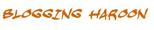 Blogging Haroon