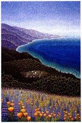 Big Sur Spring, by Fr Arthur Poulin, OSB, Cam
