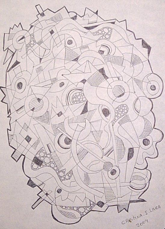 """Serie de dibujos """"vida"""""""