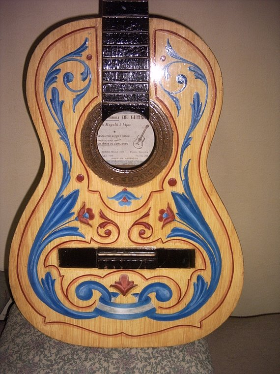 Guitarra Fileteada