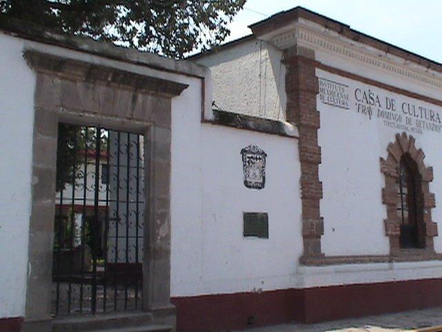 Fachada de Casa de Cultura