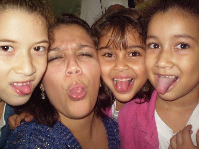 Júlia, eu, Letícia e Vitória
