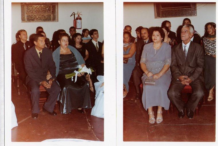 Meus pais e os pais do Renato