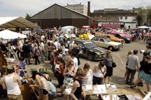 Londyn - Art Car Boot Fair
