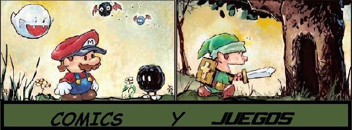 >Comics y Juegos<