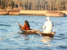 Boating on the Euphrates