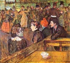 Au Mulin de la Galette.-1889