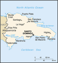 Map of the DR