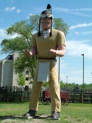 Muffler Man Indian