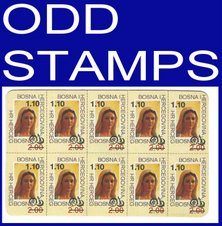 ODD STAMPS