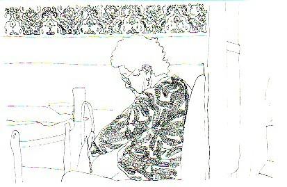 dessin format A4.2003