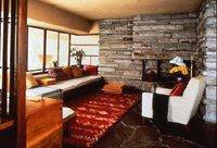 ゲストハウスのリビングルーム