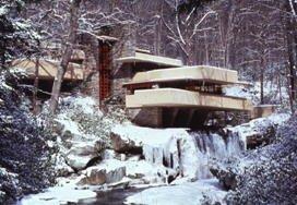 雪の落水荘