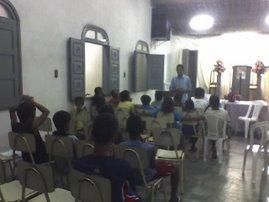 Reunião da Embaixada, um momento de encontro com nosso Rei Jesus Cristo