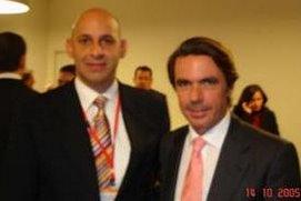 Encuentro con José María Aznar en Madrid. Año 2005