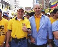 Con Henrique Capriles Radonsky