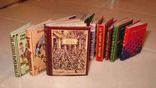 Algunos de mis mini libros