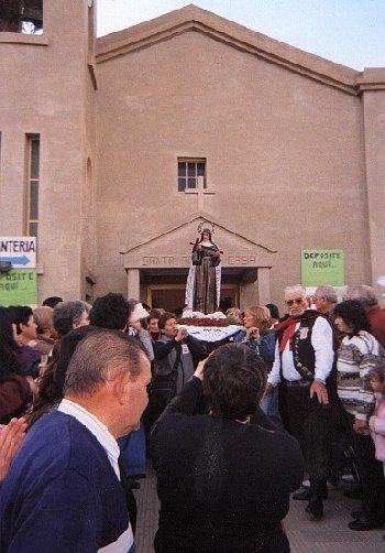 Celebración a Santa Rita