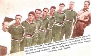 FLUMINENSE BI-CAMPEÃO ESTADUAL INVICTO 1953/1954