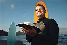 """""""Passei a vida buscando a onda perfeita e acabei encontrando, é Jesus !"""""""