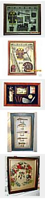variety of shadow boxes